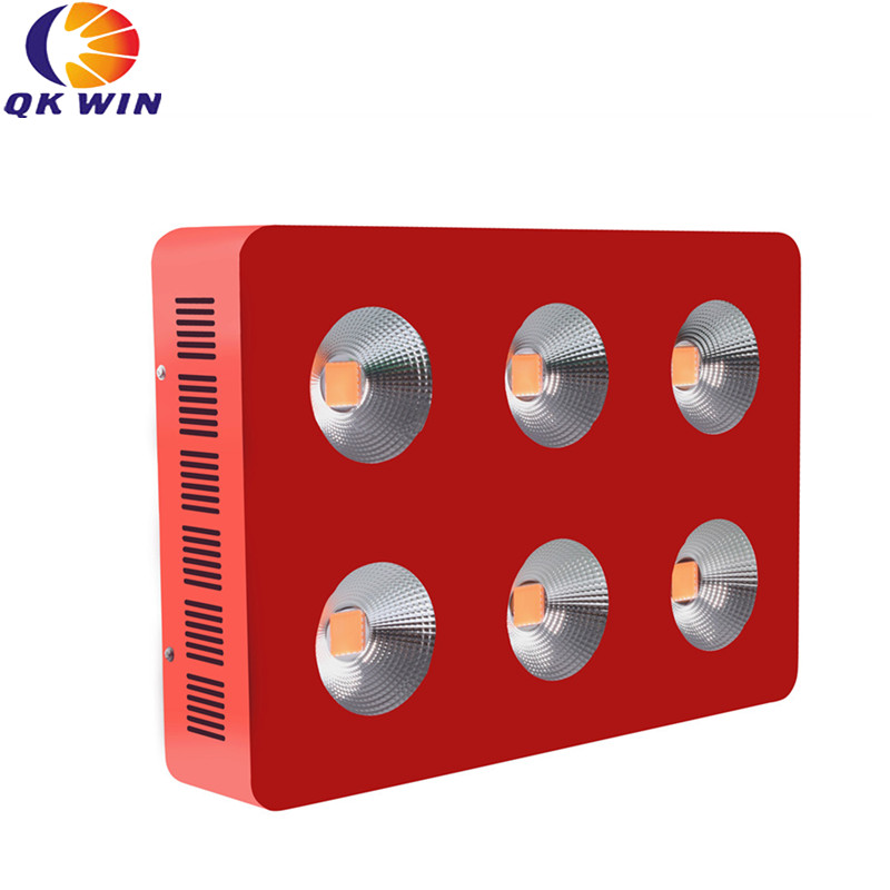 Qkwin G6 COB led grow light 1800W with 6pcs 300W led Full spectrum with reflector for