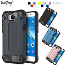coque huawei y6 2017 wolf