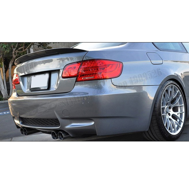 For BMW E93 Modified Performance Style Carbon Fiber Rear Trunk Luggage Compartment Spoiler Car Wing 2007-2013 e60 carbon fiber rear trunk boot wing lip spoiler for bmw 5series m5 style 05 11