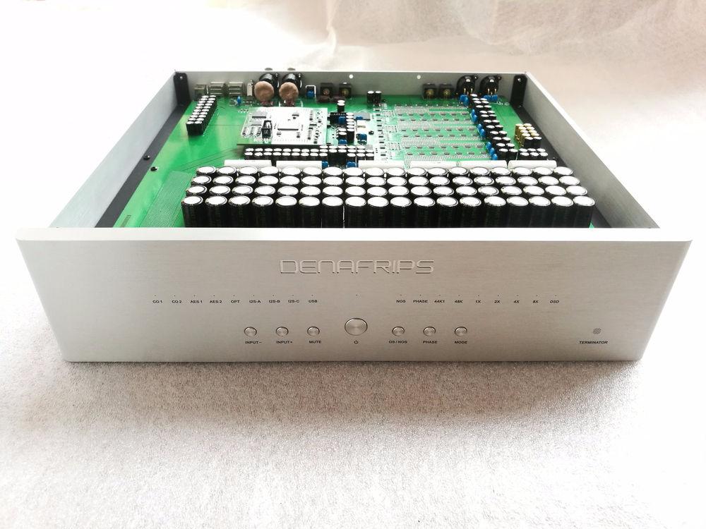Tragbares Audio & Video Unterhaltungselektronik PüNktlich R-015 Terminator Diskrete Widerstand R2r Volle Ausgewogene Dac Decoder Crystek 26bit Dac R2r Leiter 32bit 16x Oversampling-digitalfiltertechnik Amanero Usb