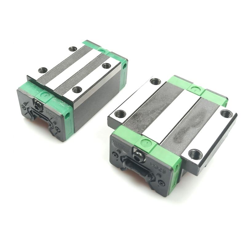 Heißer verkauf 3D druck teile CNC router linear guide Linear schiene sliding1pc HGH15CA HGW15CA block HGH20CA HGW20CA HGH20HA wagen