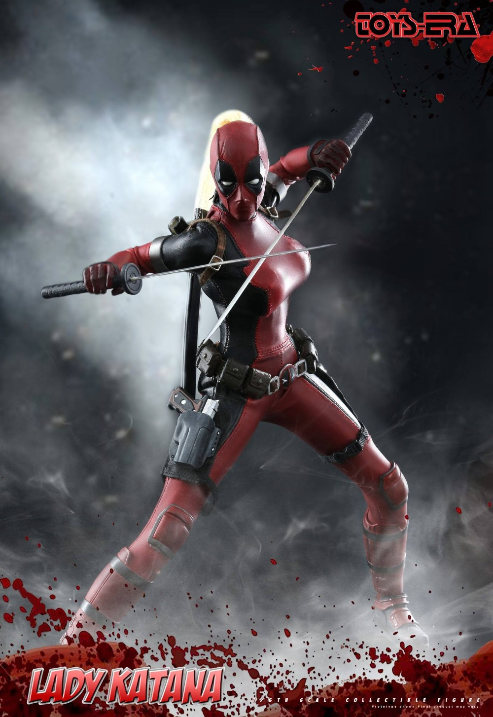 1/6 scale figure Female warrior Lady Katana in Deadpool clothing 12 Action figure doll Collectible Plastic Model Toys 1 6 scale figure movie wonder woman amazons amtoys 1 6 warrior collection full set action figure