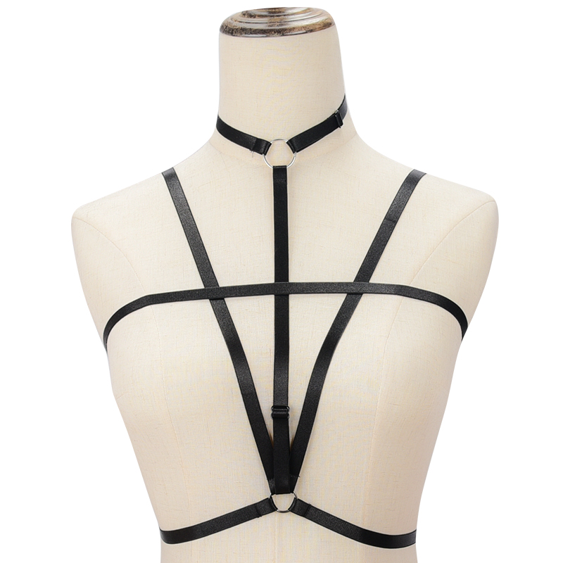 Women Brassiere Sexy Double Push Up Bra Super Lady Transparent Bralet Crop Top Bra Unpadded Wireless Through Bandage For Girls