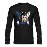 Tasarım t shirt Erkekler için Kız Arkadaşı erkek crossover gemi Tops titan üzerinde saldırı xs-3xl video oyunu blusa fitness tops günlük giymek