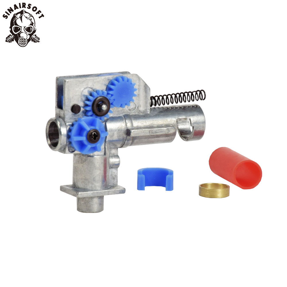 SHS Metal Hop Up Unit Chamber Fit AEG Gearbox M4 M16 Series Rifle Marui Dboys JG Etc.  For Hunting Paintball Accessories