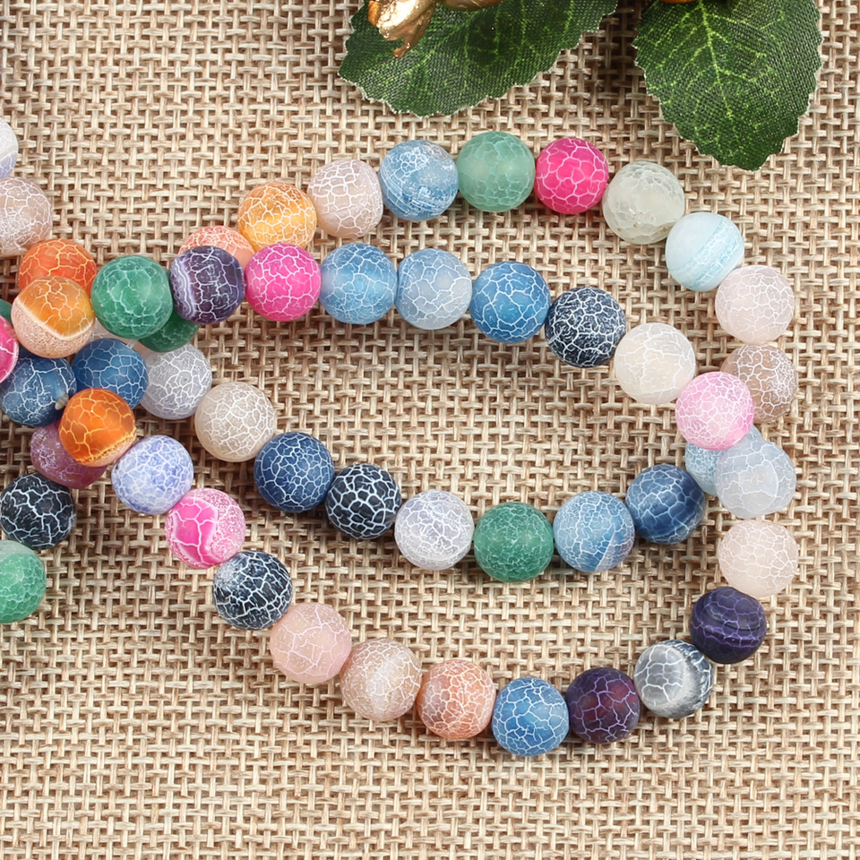 set of 60 puck beads for making ethnic boho jewelry 8mm wooden washer beads