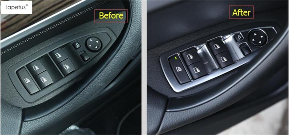 Accessories For BMW 3 Series F30 316i 320i 328i 2013 - 2017 Inside Door Handle Panel Sticker Surround Window Switch Cover Trim полуось на bmw 316i в беларуси