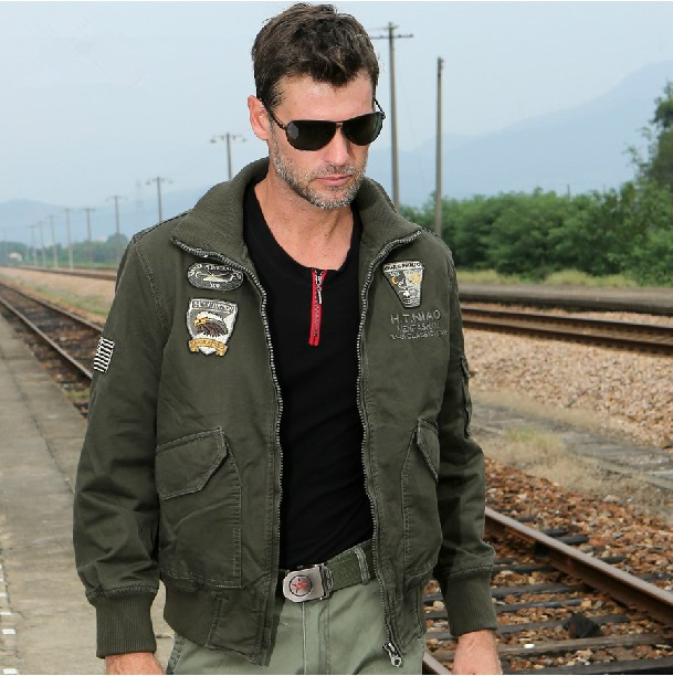 b0d3dcb837e Fashion M65 combat jacket 101st Airborne Division bomber jacket Casual  outdoor jackets