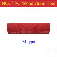 6 M Type Wood Grain Rubber Tools 150mm Woodgrain Painting Tools For Making Wood Grain Pattern