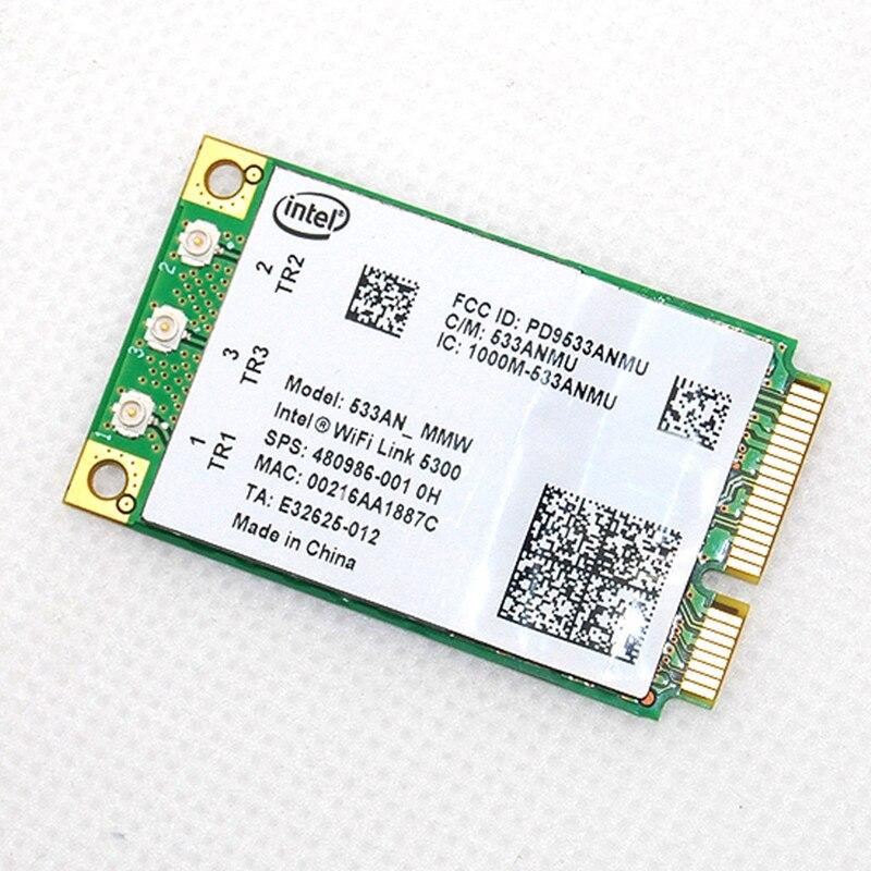 Intel Dual Band 10//100//1000mbps Mini PCI-E Wireless Wifi Wlan Card for XP