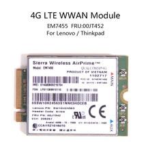 For Lenovo X260 T460 P50 P70 L560 X1 Carbon Sierra Wireless Airprime EM7455 QUALCOMM GOBI6000 4G LTE WWAN Module IBM FRU:00JT542 недорого