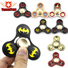 EDC Tri Spinner Avengers DC Super Hero Fidget Toy Iron Man Batman Flash Metal ADHD Hand