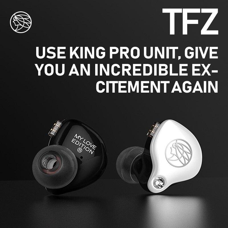 Édition TFZ Mylove, écouteurs Hifi dans l'oreille, nouvelle unité de 2.5 génération, unité de bobine mobile à Double Circuit magnétique