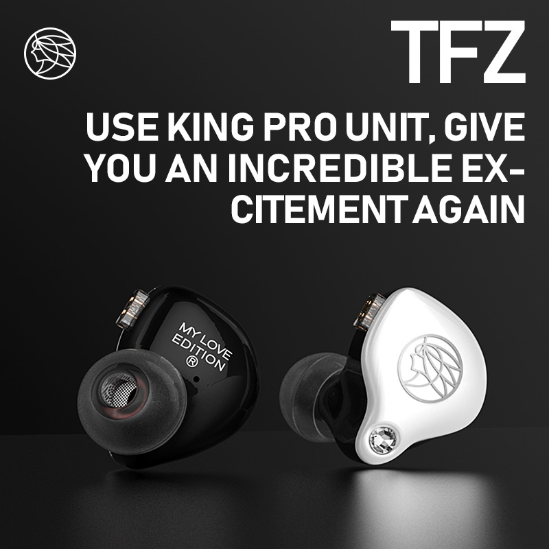 TFZ Mylove edition In Ear Hifi Earphones New 2 5 Generation Unit Double Magnetic Circuit Moving