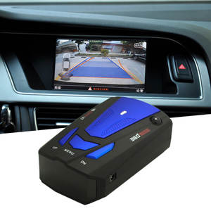 Blue/Red 360 Degrees Car Radar Detector Laser LED Display 16 Band Voice Alert Laser