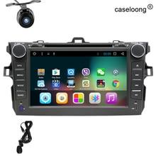 8 «Android 7.1 dvd-плеер автомобиля GPS навигации для Toyota Corolla 2006 2007 2008 2009 2010 2011 автомобиль Райдо стерео с SWC BT Wi-Fi