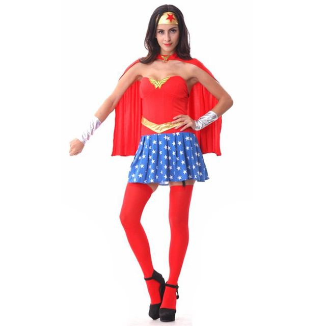 Wonder Woman Kostüm Erwachsene Disfraces Adultos Halloween Kostüme