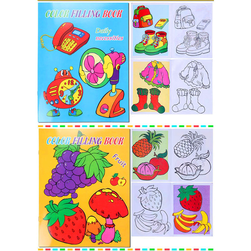 10 Pages Paint Learning Notebook Paper Painting Learning & Education ...