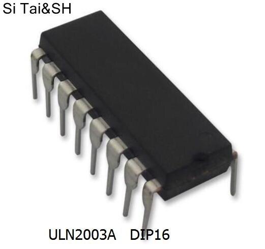 10PCS ULN2003AN DIP16 ULN2003A DIP-16 ULN2003 ULN2003APG DIP New And Original IC