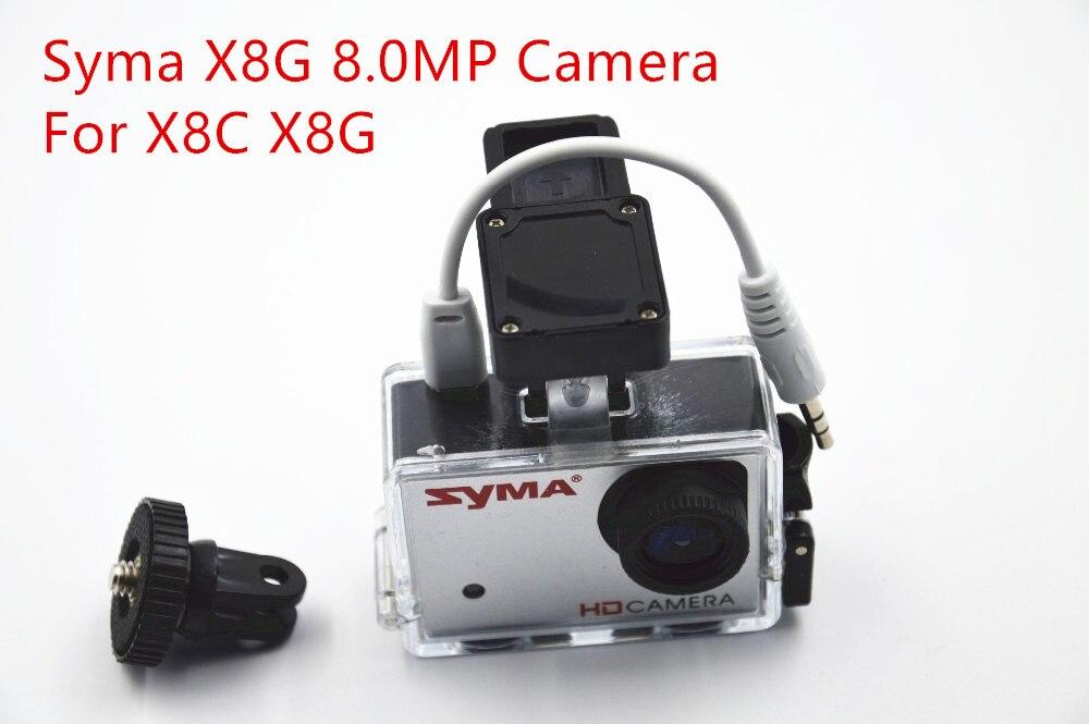 Caméra d'origine Syma X8G HD 8.0MP pour Syma X8C X8G quadrirotor pièces de rechange