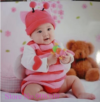 Super Cute Baby Girls Infant Pink Bee Hat Costume Performance Clothing Animal Photography Photo  sc 1 st  AliExpress.com & Super Cute Baby Girls Infant Pink Bee Hat Costume Performance ...