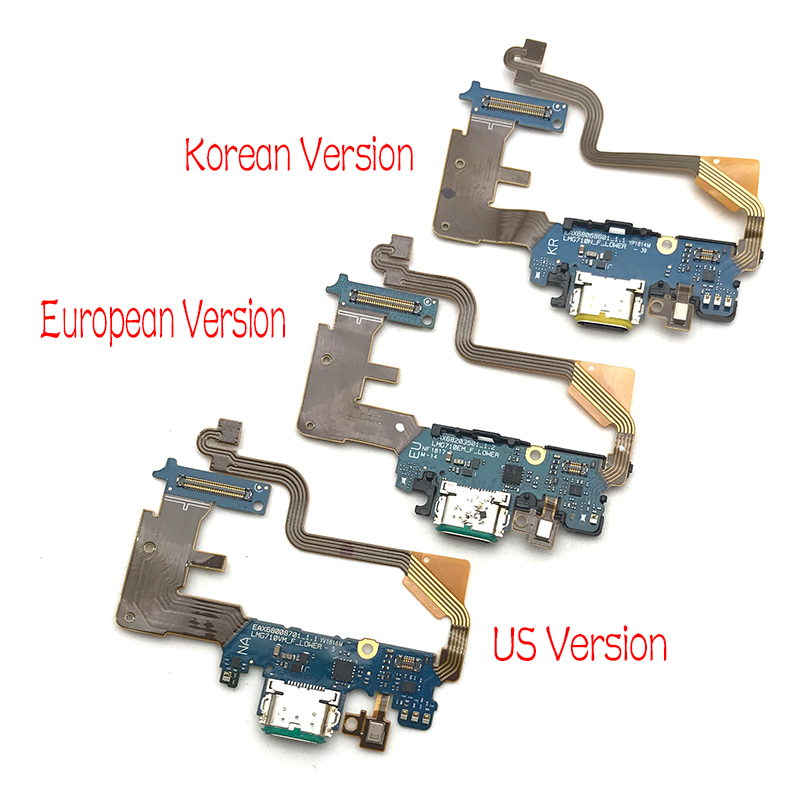 Image 4 - 10pcs/lot,For LG G7 Thinq G710 Dock Connector Micro USB Charger Charging Port Flex Cable Board With Microphone Replacement Parts-in Mobile Phone Flex Cables from Cellphones & Telecommunications