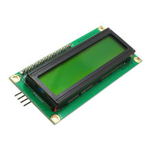 Glyduino IIC/I2C 1602 LCD Display Module Green Screen for Arduino