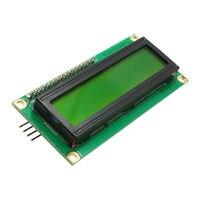 Glyduino iic/i2c 1602 módulo de exibição lcd tela verde para arduino