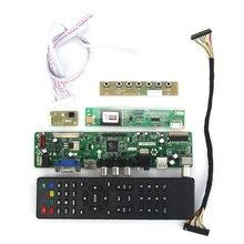 T. VST59.03 LCD/LED Controller Driver Board Für QD15TL04 QD15TL02 (TV + HDMI + VGA + CVBS + USB) LVDS Wiederverwendung Laptop 1280×800