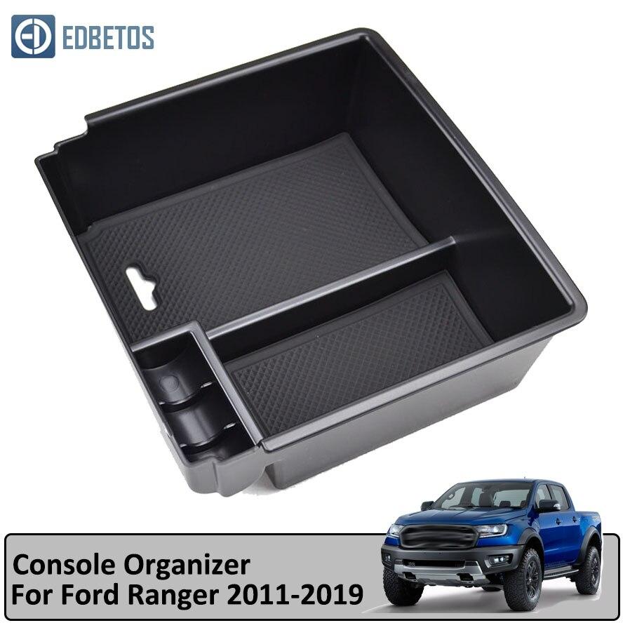 Ranger Armrest Box Car Organizer Accessories for Ford Ranger 2011 2012 2013 2014 2015 2016 2017 2018 2019 Extended Wildtrak