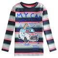 Розничная можете выбрать размер 2014-нова дети бренд полосатый мальчик футболка с длинным рукавом новинка мальчик одежда детская одежда A5124
