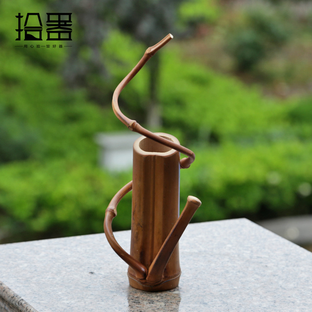 Japanese bamboo floor vase handmade tabletop flower vase storage japanese bamboo floor vase handmade tabletop flower vase storage fashion wedding home decoration accessories gift crafts junglespirit Images