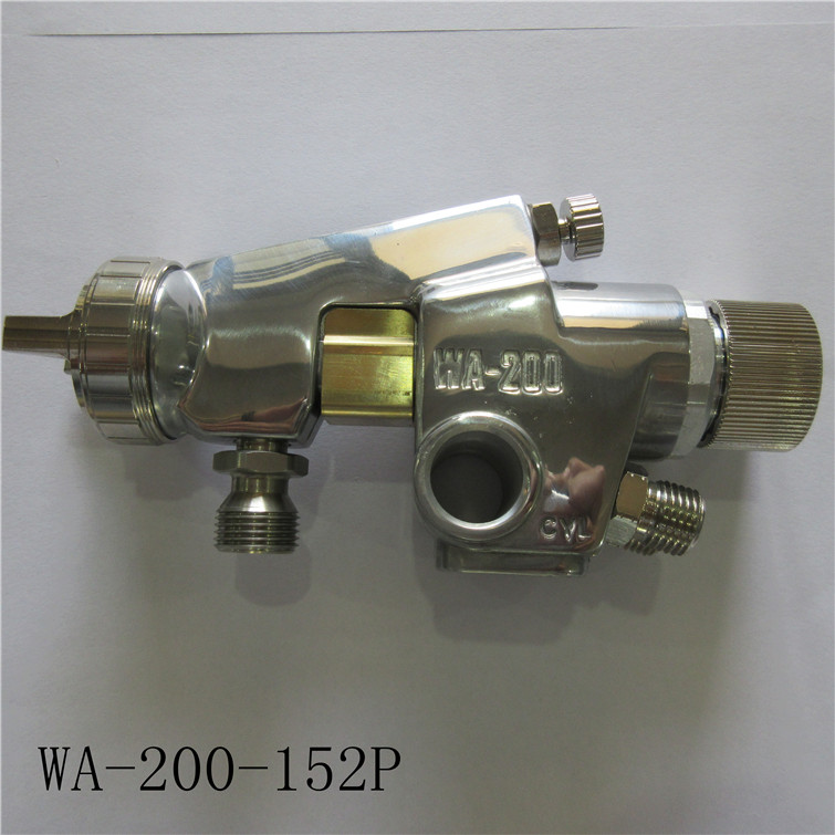free shipping,WA-200 automatic spray guns(WA200) high efficiency painting gun,1.2/1.5/2.0/2.5mm nozzle size to choose prona mrs2 2r dual head manual spray gun double nozzle painting gun 0 5 0 8 1 0 1 3mm nozzle to choose free shipping two head