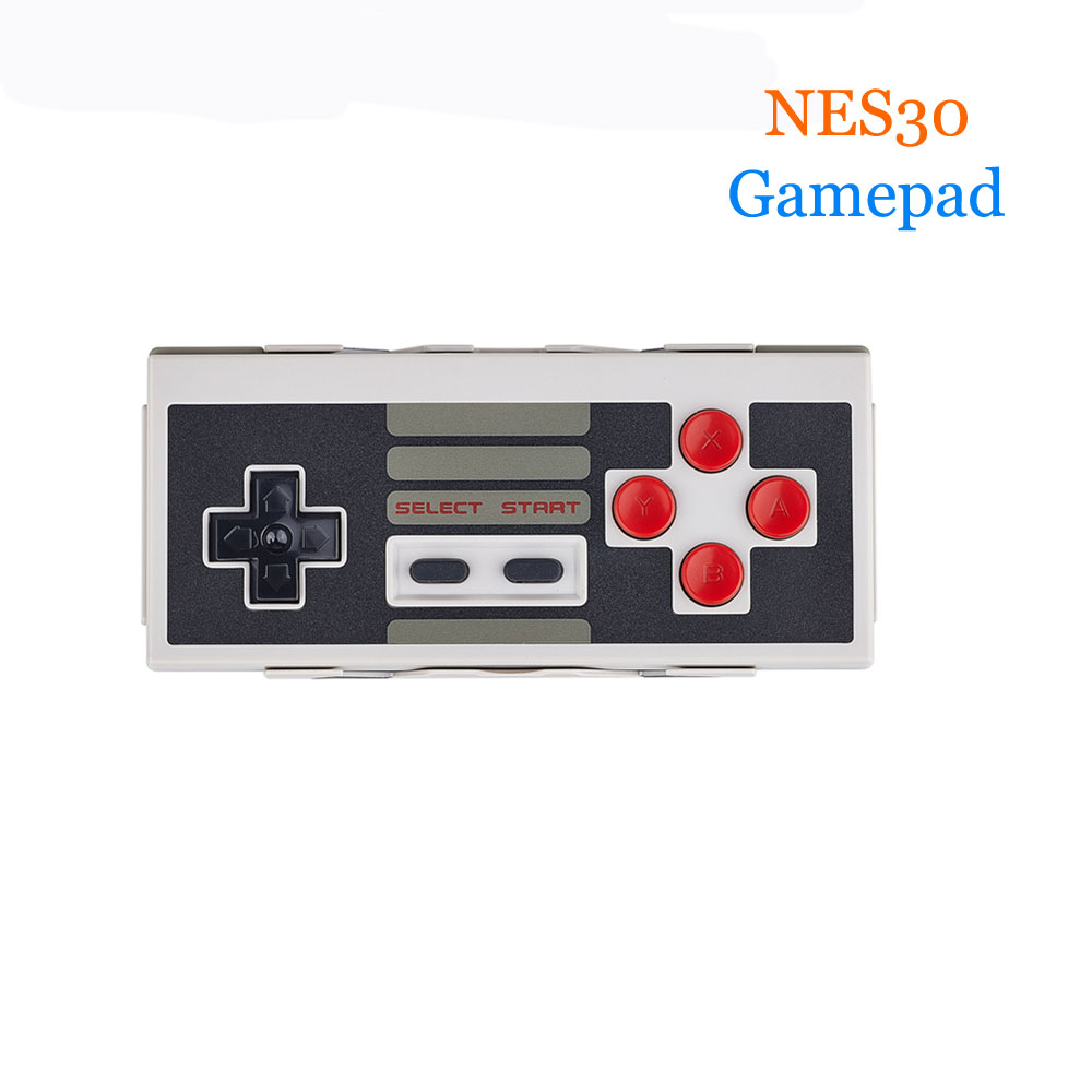 8Bitdo NES30 gamepads Wireless Bluetooth Controller joystick Dual Classic with Bluetooth Retro Receiver for iOS Android Windows 8bitdo fc30 pro wireless bluetooth controller dual classic joystick for android gamepad pc mac linux