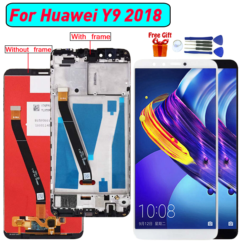 For Huawei Y9 (2018) Display LCD Screen Assembly replacement For Huawei Y9 (2018) FLA-L22 LX2 LX1 LX3 lcd display screen moduleFor Huawei Y9 (2018) Display LCD Screen Assembly replacement For Huawei Y9 (2018) FLA-L22 LX2 LX1 LX3 lcd display screen module