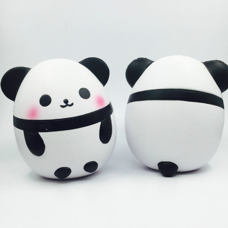 2019 Squishy Antistress Kawaii Jumbo Panda Egg Slow Rebound Pu Decompression Toy Simulation Cake Resin Craft Toys For Children's