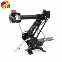 DOIT 6 Dof рука робота металлический манипулятор механический рычаг алюминиевый сплав структура для Arduino DIY пульт дистанционного управления Танк шасси