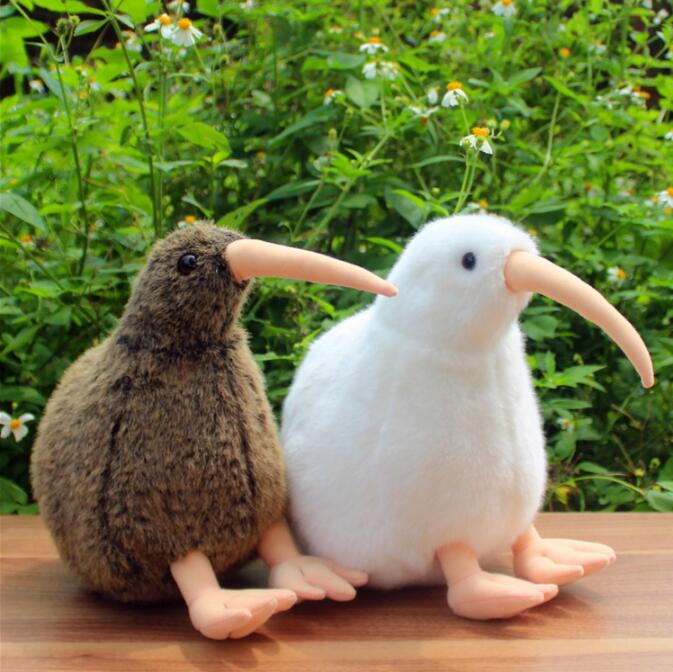 Söt Big Kiwi Plush Doll Toy Simulering Birds Dolls Leksaker För Barn Födelsedagspresent