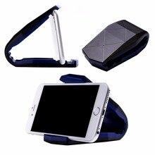 1 Pc Car Bracket Mobile Phone Alligator Clip Desk Holder Mount Universal