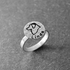 Engravable Ring,  Cu...