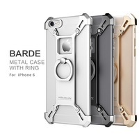 Amazing Iron Chariots Model NILLKIN Barde Metal Case With Finger Ring For Iphone 6 6 Plus