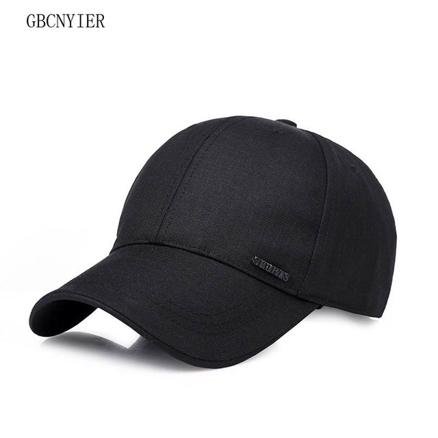 d1c6a944a38 GBCNYIER Fashion Outdoor Old Men Casual Sun Hat Dark Color Male Spring  Sports Baseball Cap Outdoor Summer Women Visor Cool