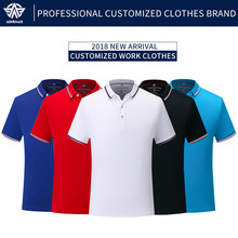 Adhemar short sleeved tennis shirts slim quick dry clothes athleisure polo shirt for outdoor sports male