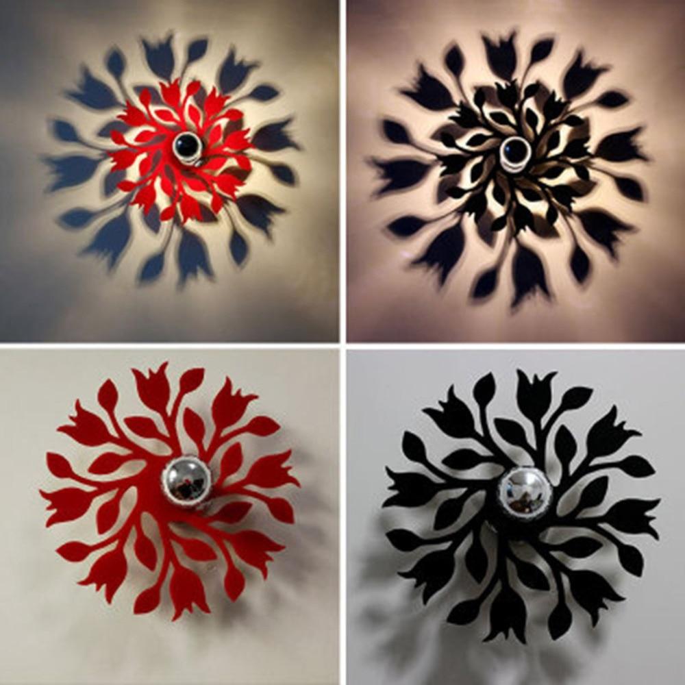 Deco Allee De Maison modern design flower shadow lamp ceiling light for bedrooom