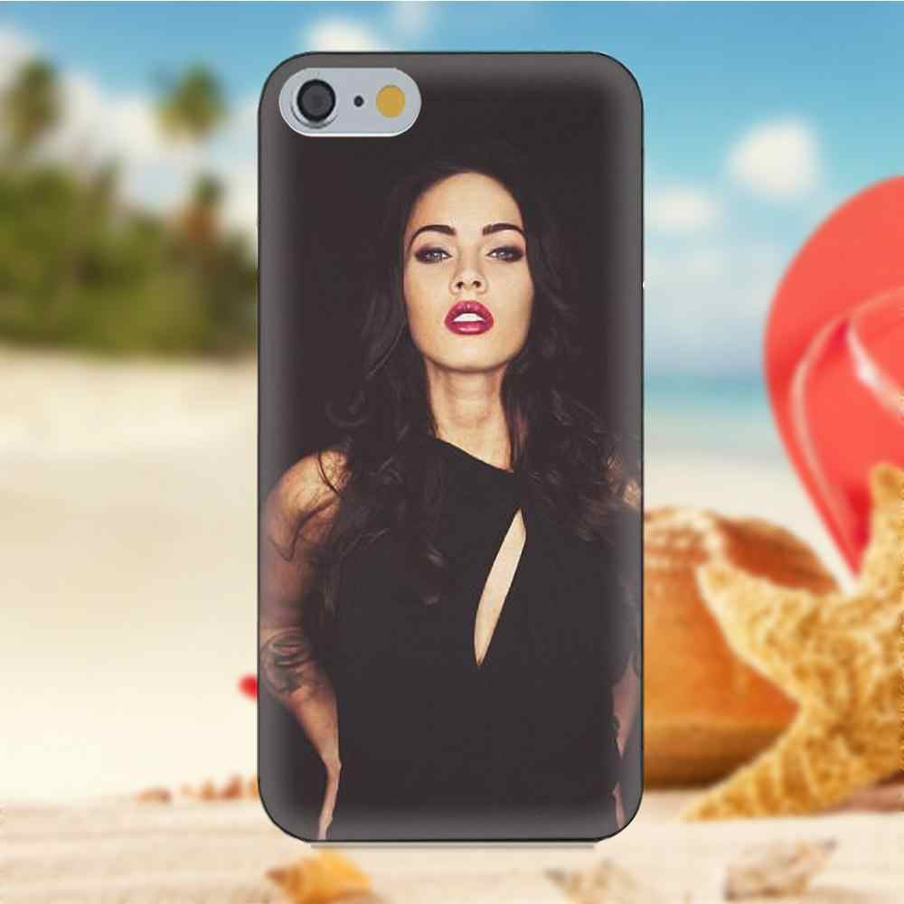 Megan Fox оптом и в розницу Чехлы для мобильных телефонов для Xiao mi Red mi 5 4A 3 3 S Pro mi 4 mi 4i mi 5 mi 5s mi Max Mix 2 Note 3 4 Plus