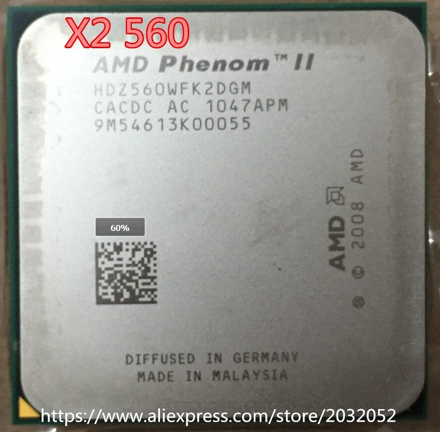 AMD CPU Athlon II X2 240E X2 240E CPU 2.8GHz Socket AM3 Processor 45W Dual-Core Scrattered Pieces