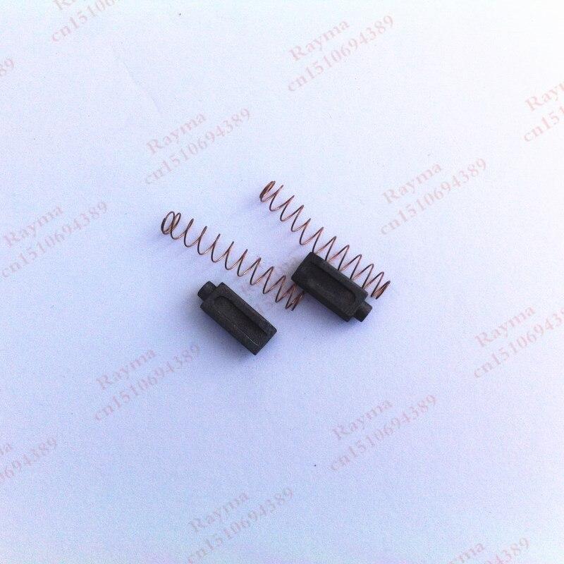 Une paire carbone brosse pour air chaud pistolet de soudage En Plastique soudeur carbone brosse outils pour air chaud pistolet de soudage