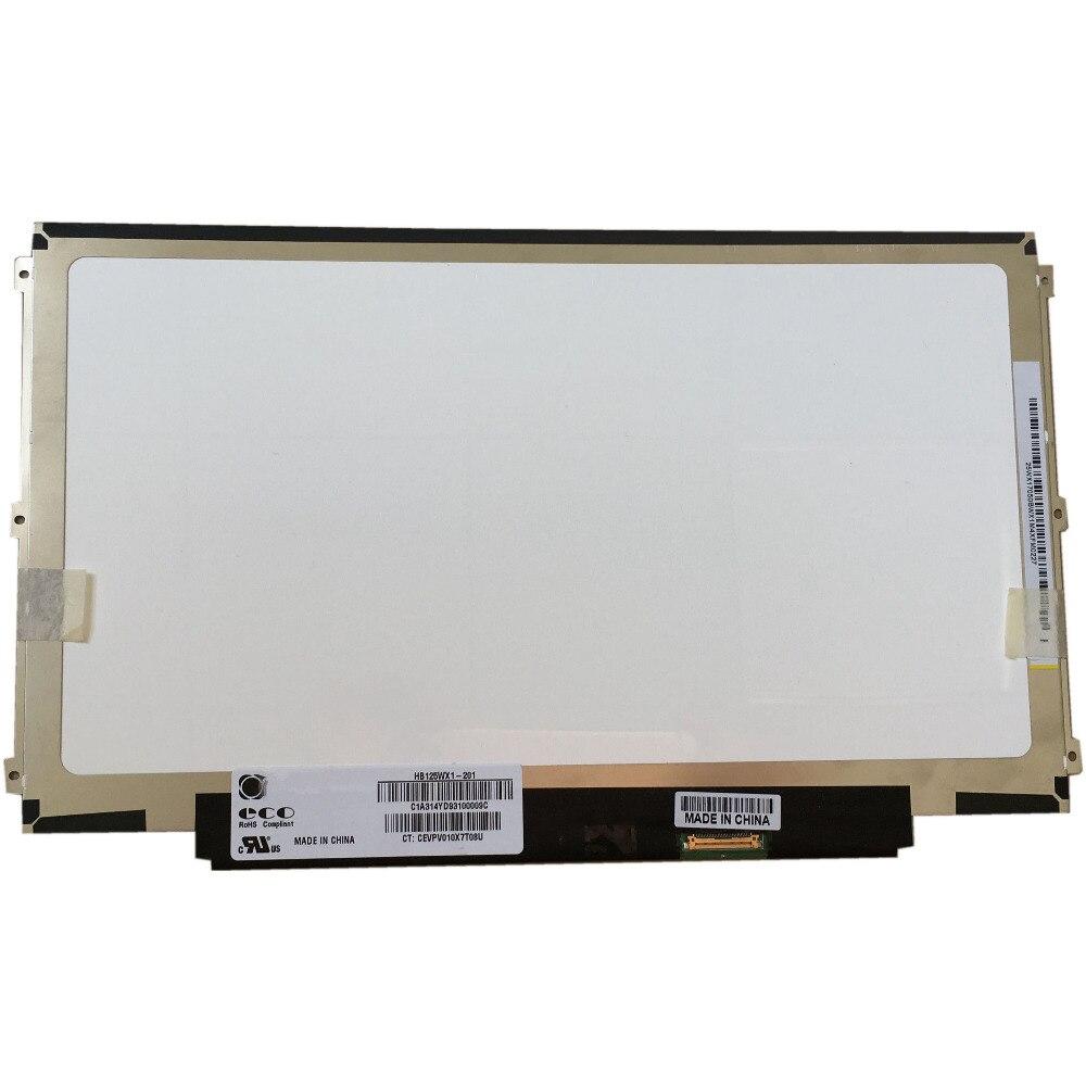 HB125WX1-201 HB125WX1-100 EDP 30 PIN Left+right 3 screw holes LED LCD ScreenHB125WX1-201 HB125WX1-100 EDP 30 PIN Left+right 3 screw holes LED LCD Screen