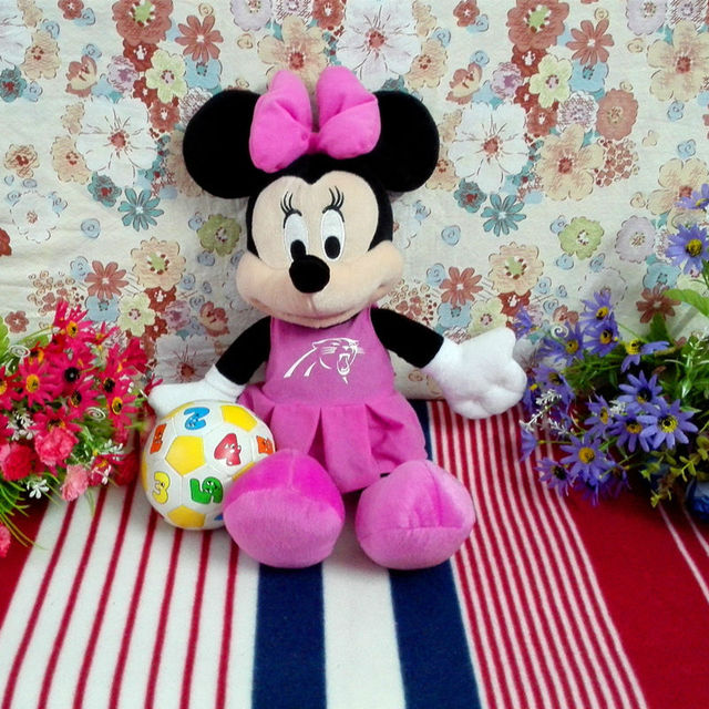Online shop free shipping sports professional league minnie mouse free shipping sports professional league minnie mouse 40cm plush stuffed toy dolls gifts easter gifts 1pcs negle Gallery
