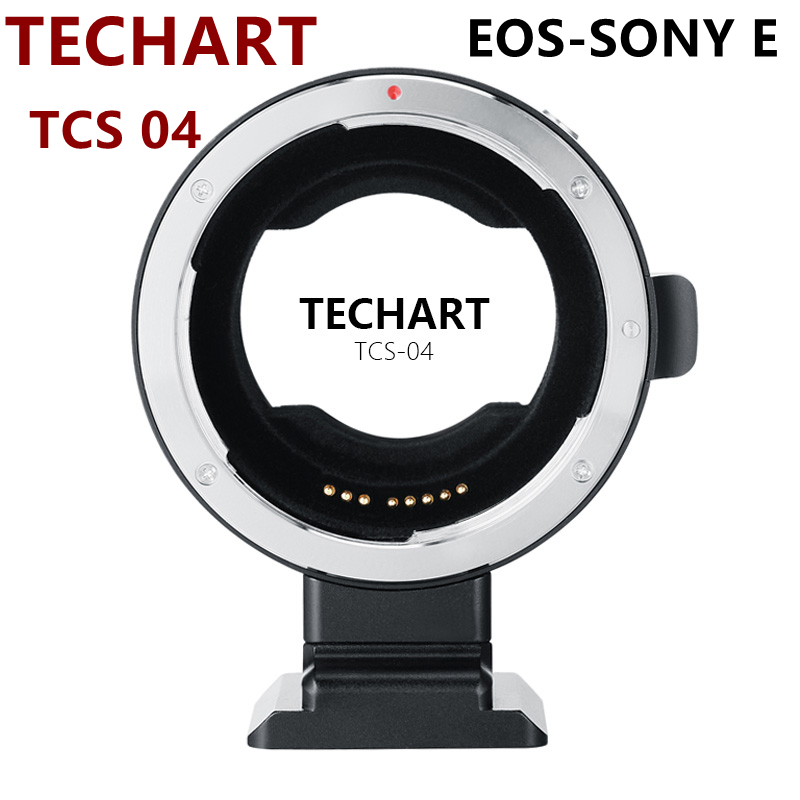 NEW TECHART Lens Adapter Converter for Canon EOS EF lens to Sony E mount Camera A9